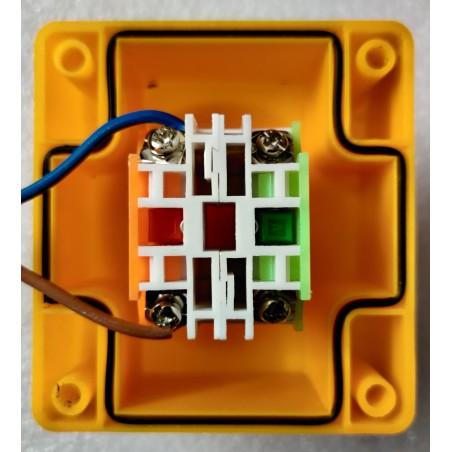 2 supports potentiomètre moteur 120w + vis M4
