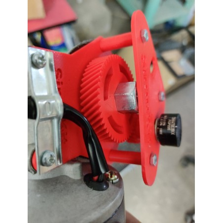 support potentiomètre moteur 400w+ vis M6*25