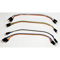 Lot de 6 câbles dupont M/M