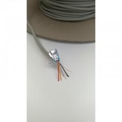 Câble blindé 2 paires 1m