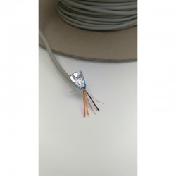 Shielded cable 2 pairs 1m
